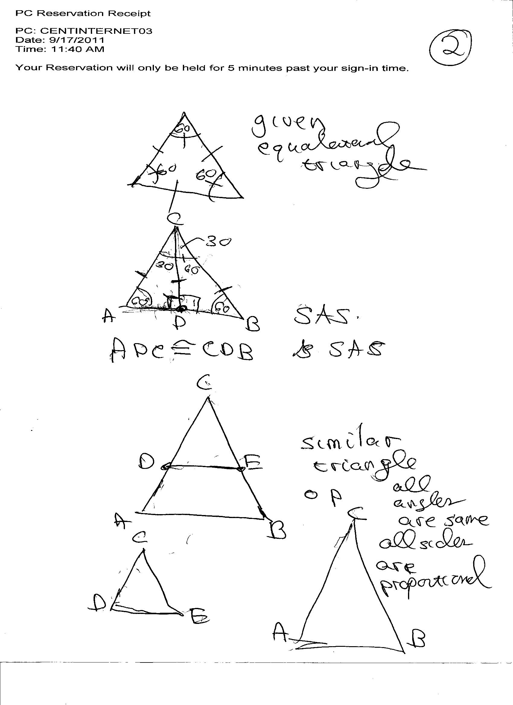 30 Geometry Worksheet Congruent Triangles