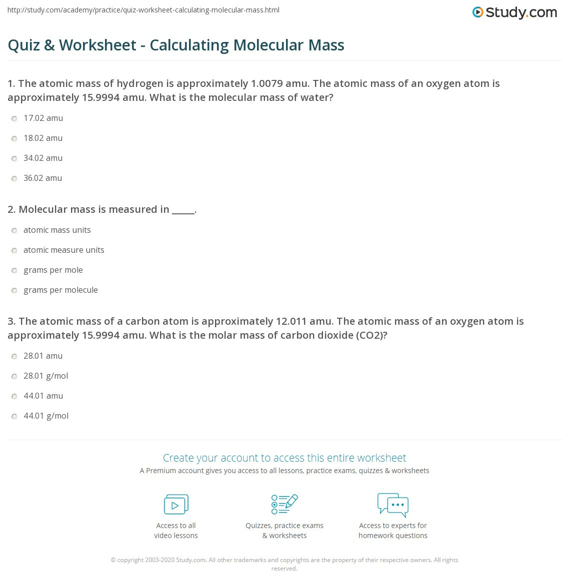 30 Molar Conversion Worksheet Answers