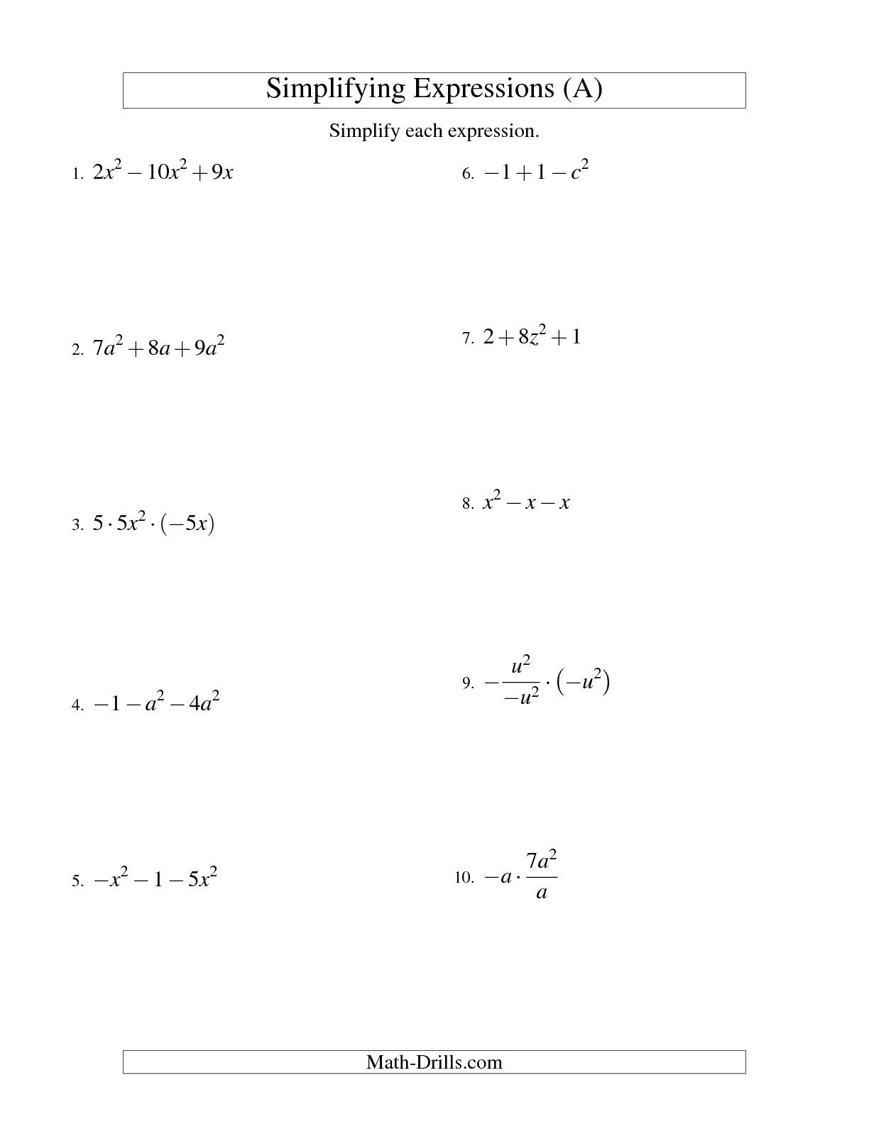 30 Simplifying Radicals Worksheet 1 Answers