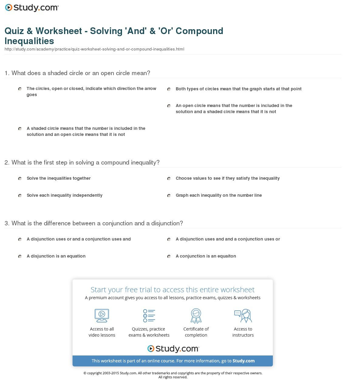 30 Solve And Graph Inequalities Worksheet