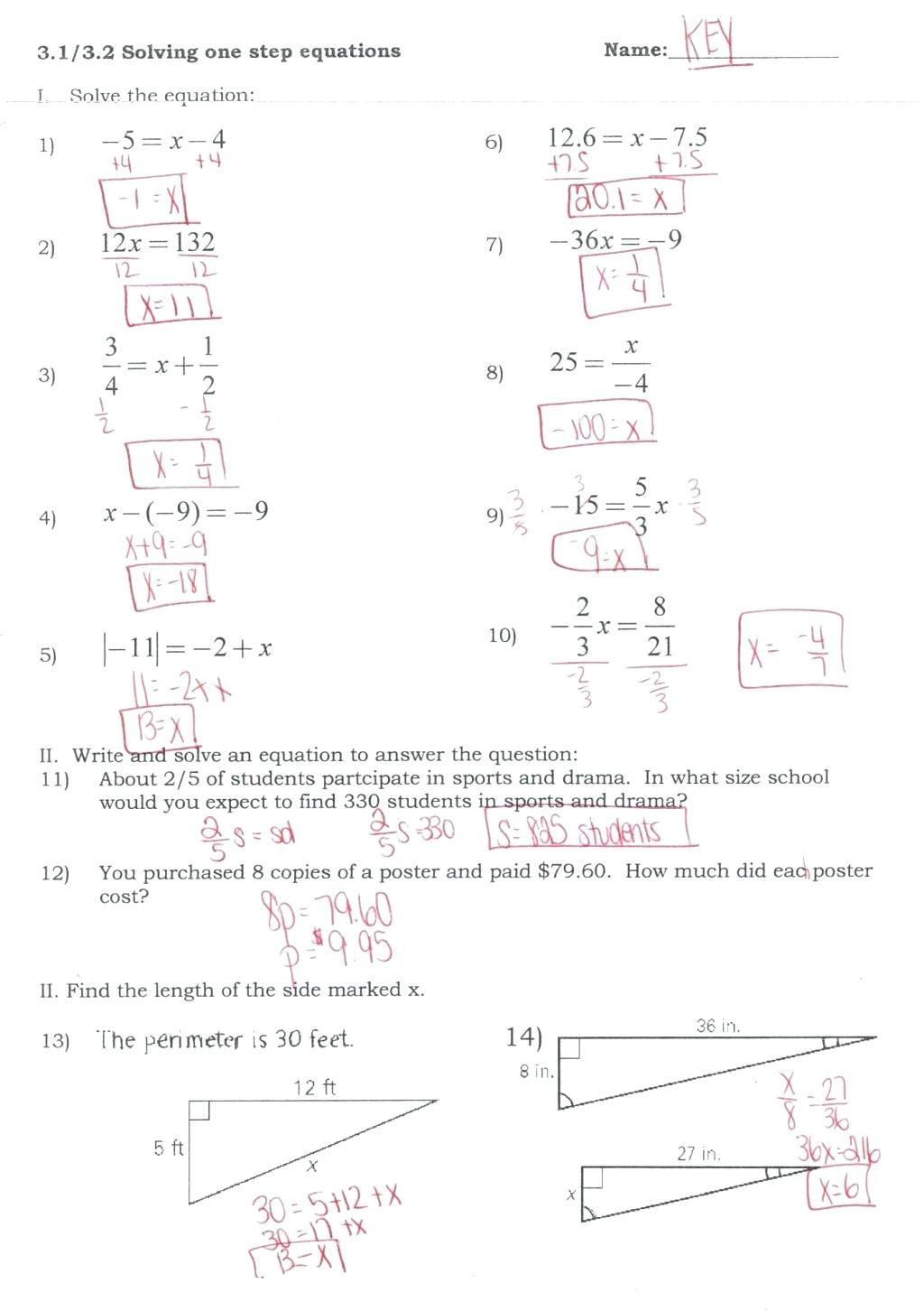 Using The Quadratic Formula Worksheet