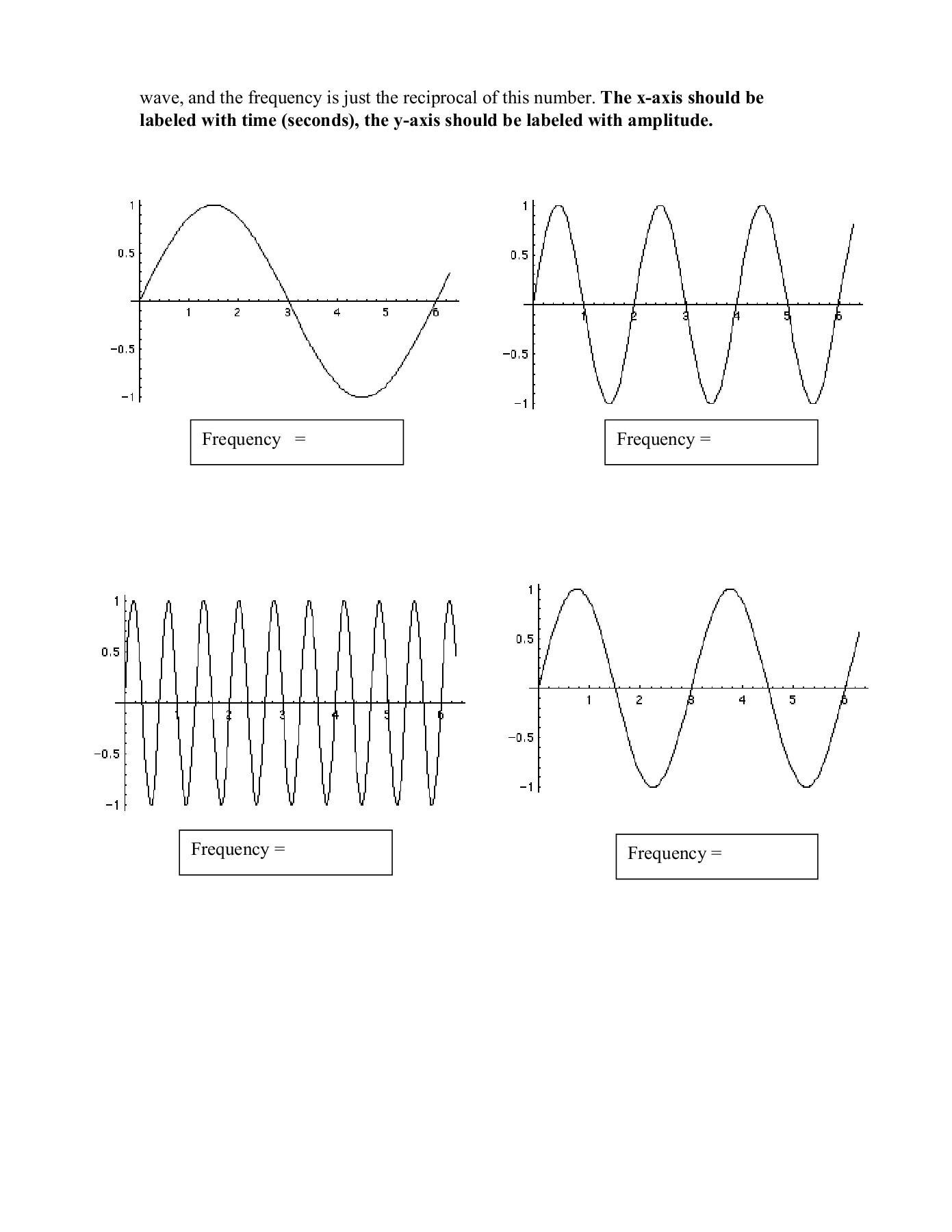 30 Wave Worksheet Answer Key