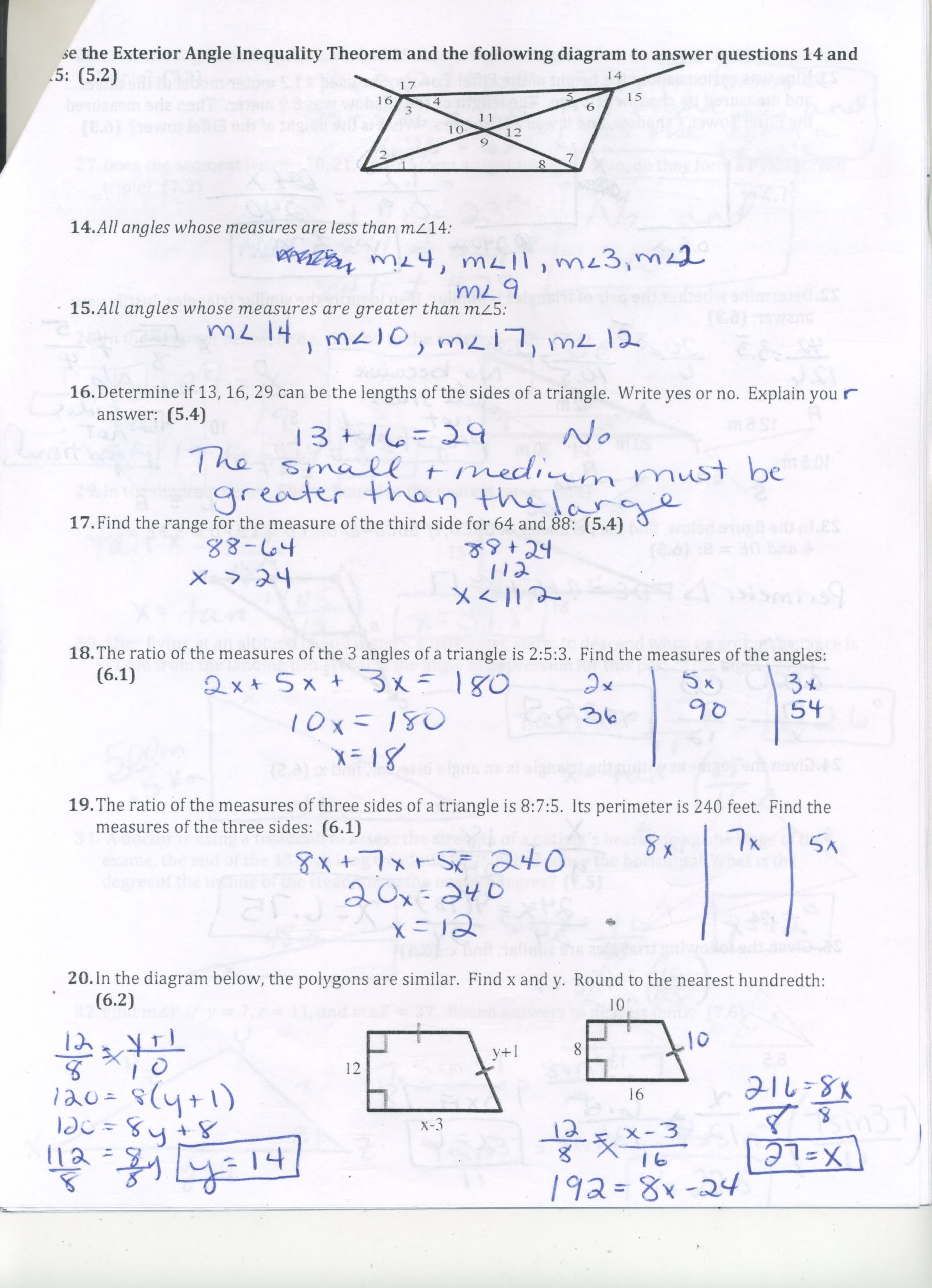 30 Algebraic Proofs Worksheet With Answers