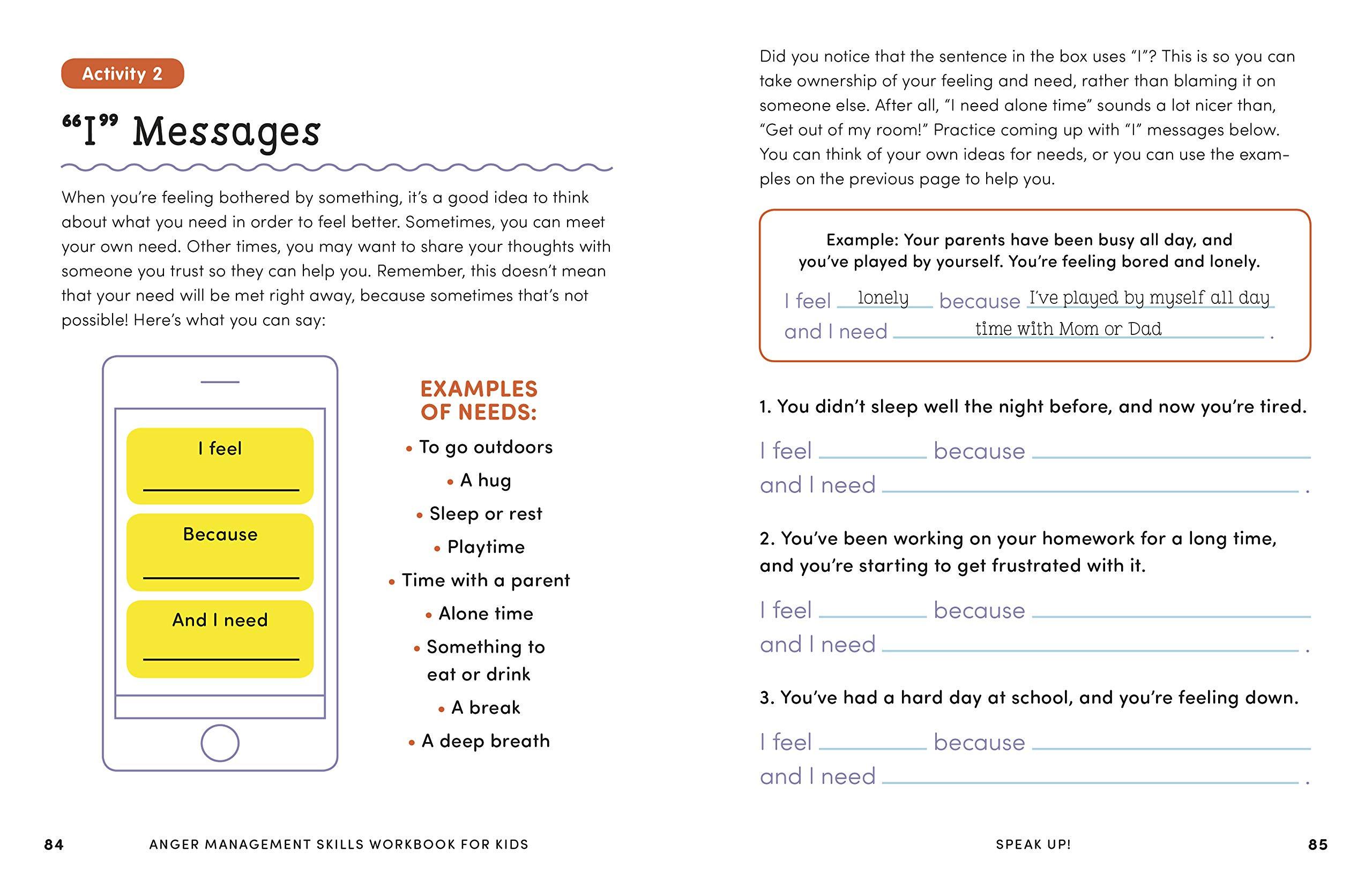 30 Anger Management Worksheet For Teenagers