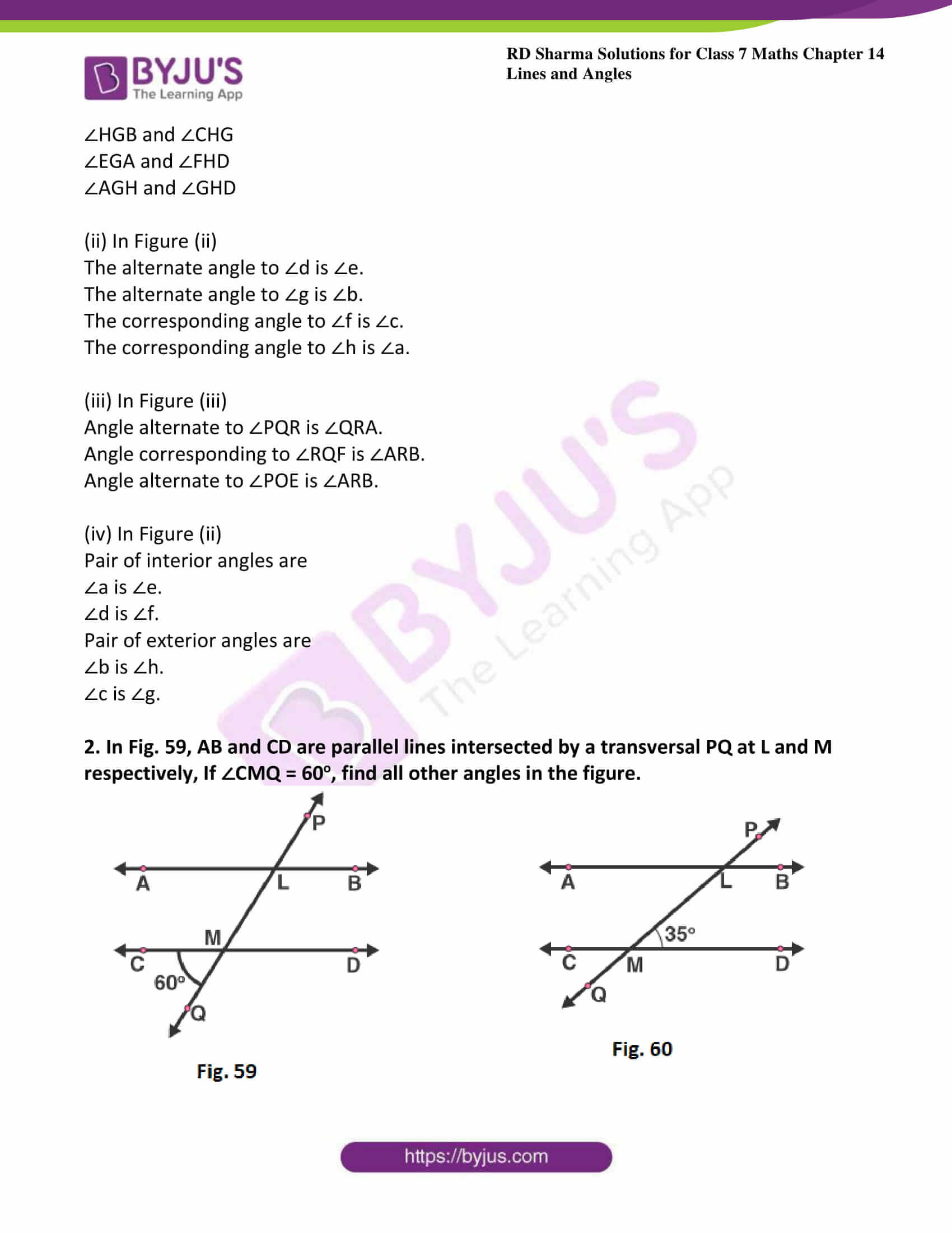 30 Angles In Transversal Worksheet Answers