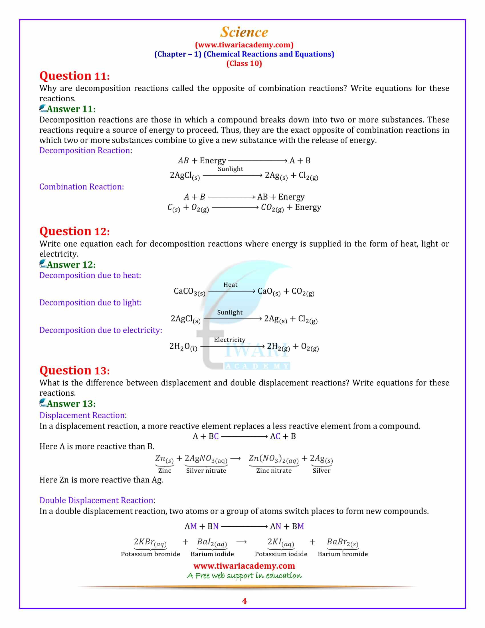 30 Bill Nye Chemical Reactions Worksheet