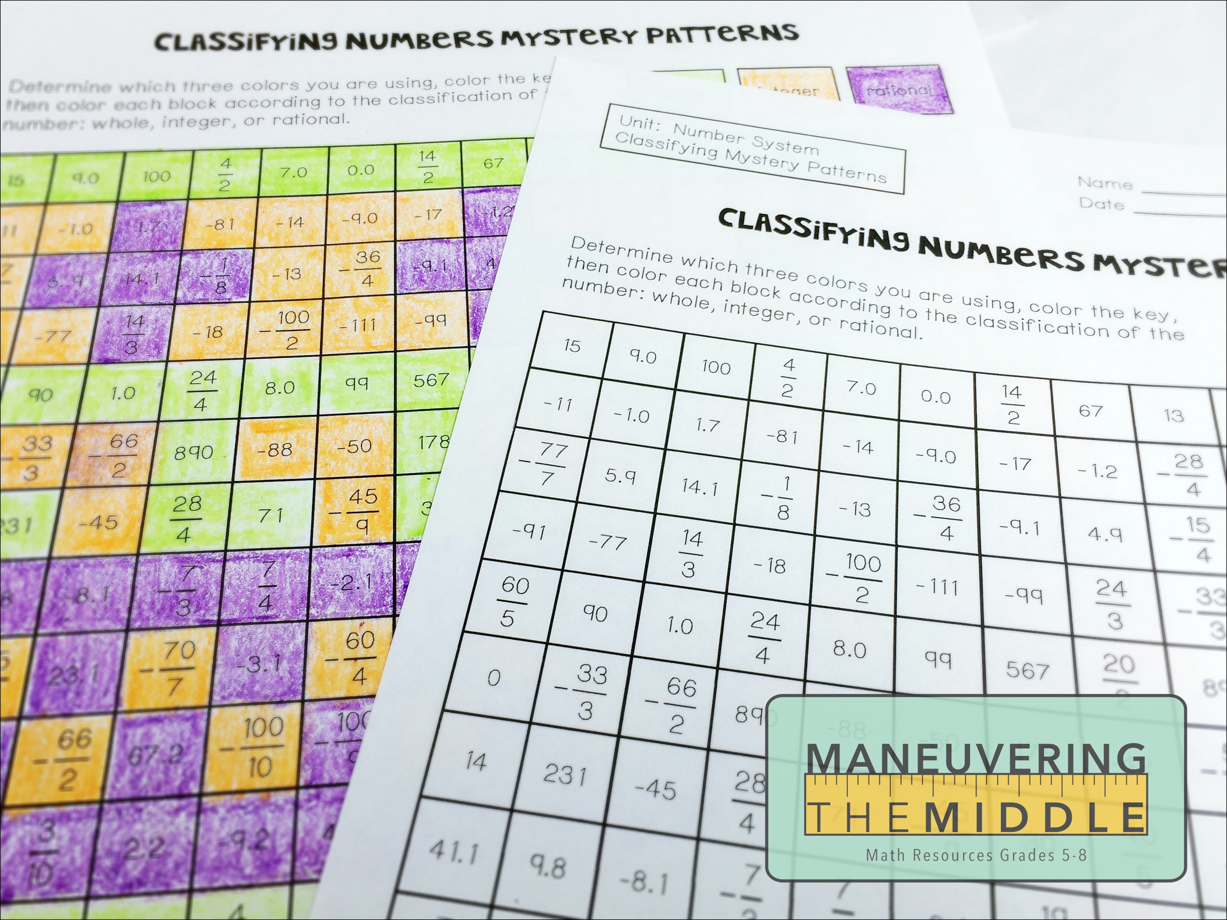 30 Classifying Real Numbers Worksheet
