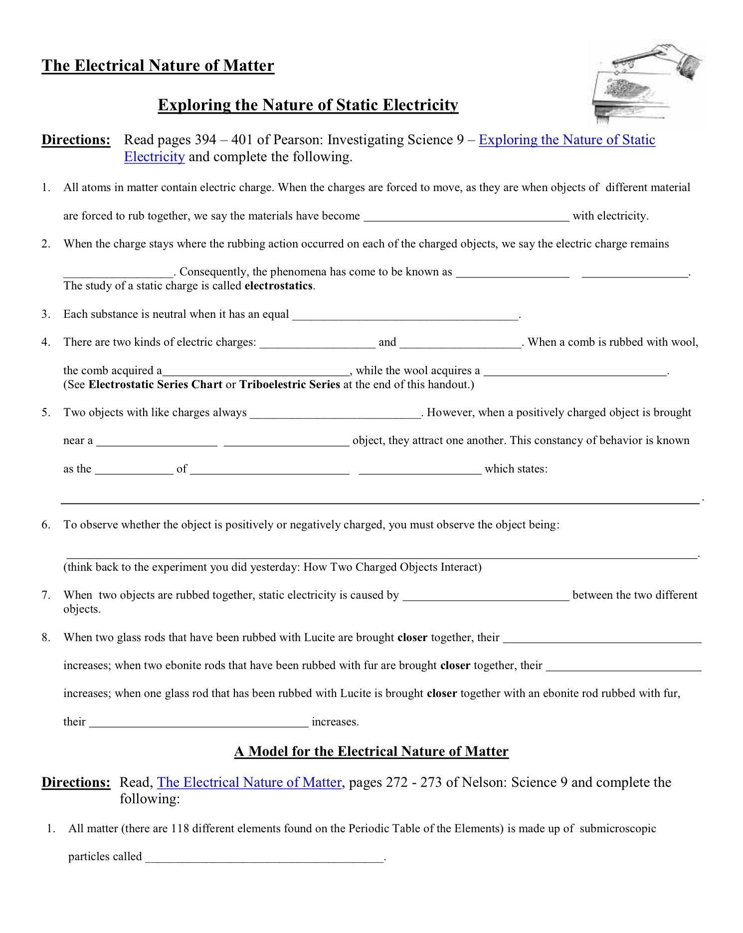 30 Electrical Power Worksheet Answers