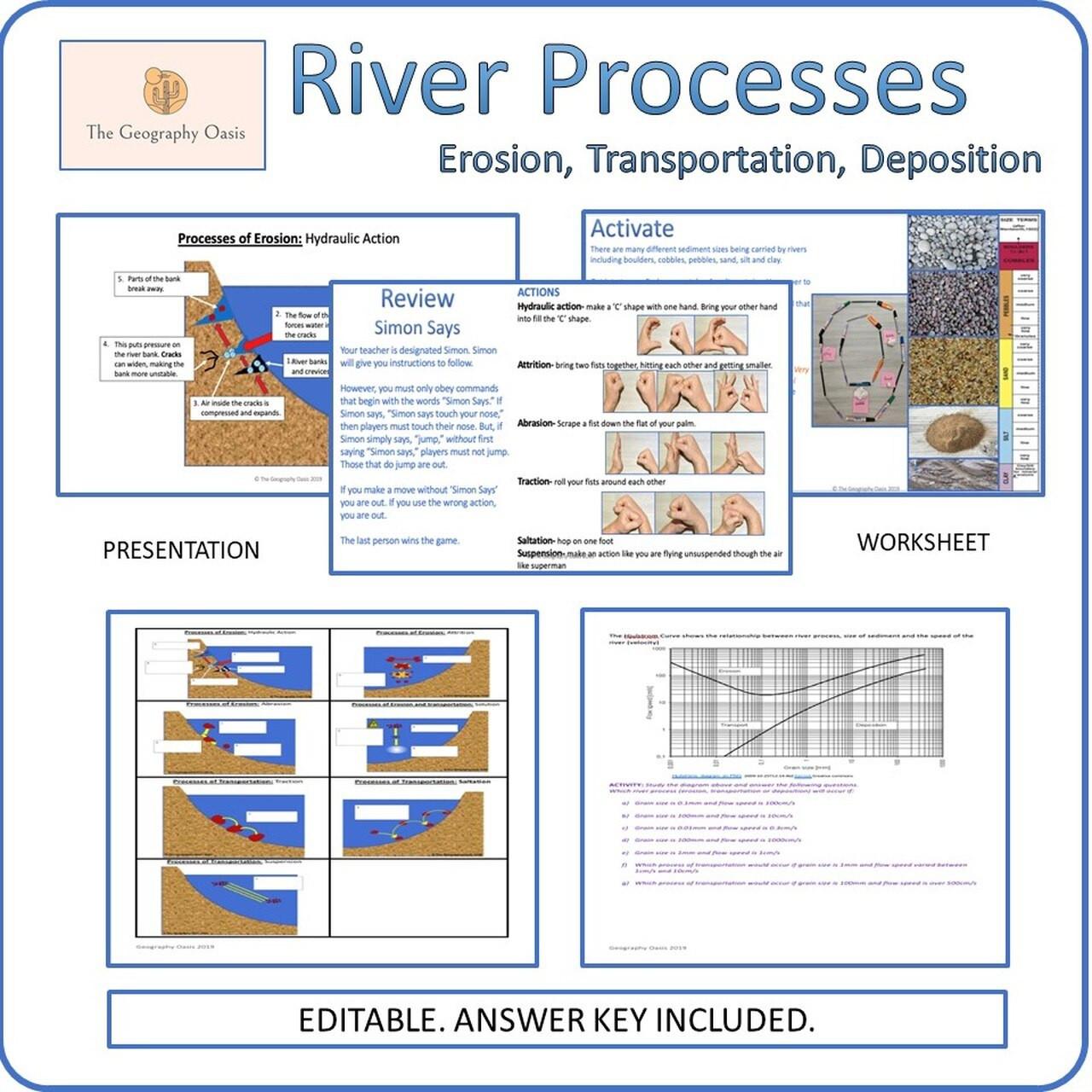 30 Erosion And Deposition Worksheet