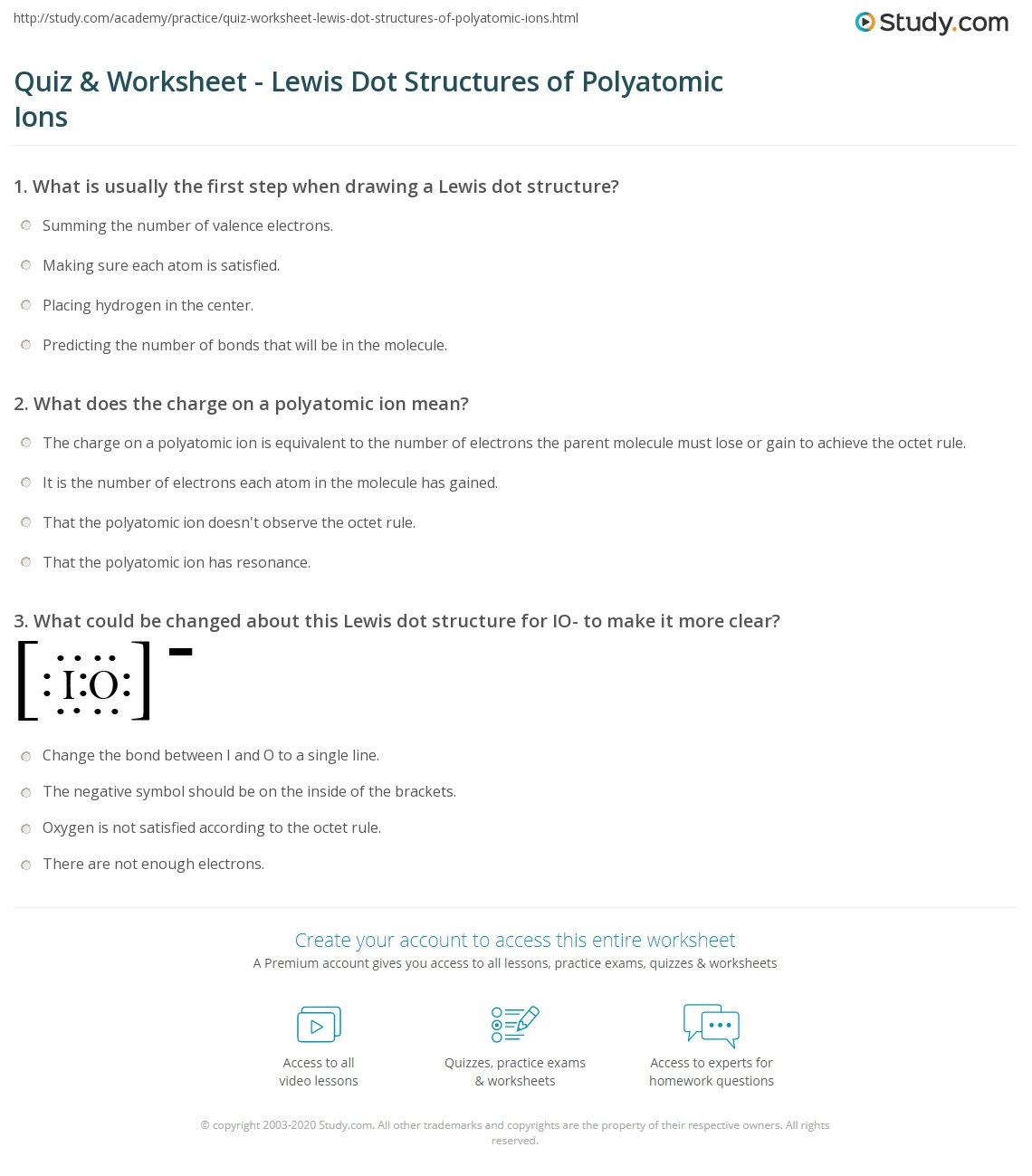 30 Lewis Dot Structure Practice Worksheet
