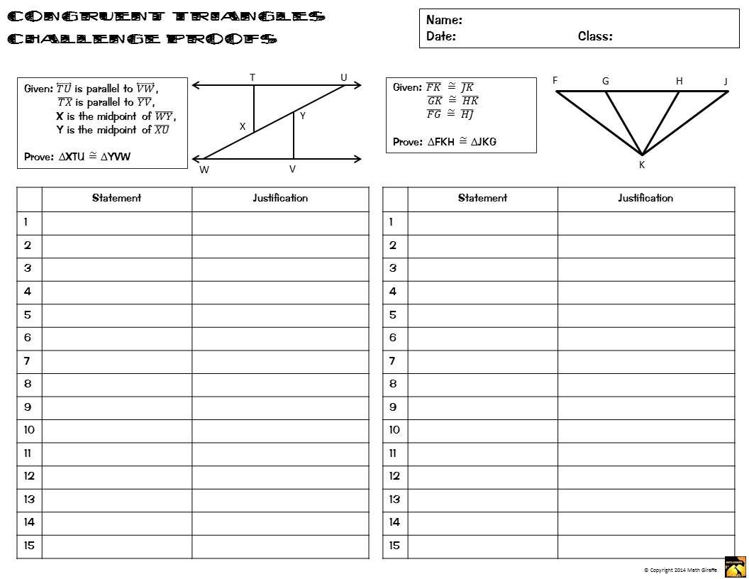 30 Proving Triangles Congruent Worksheet Answers