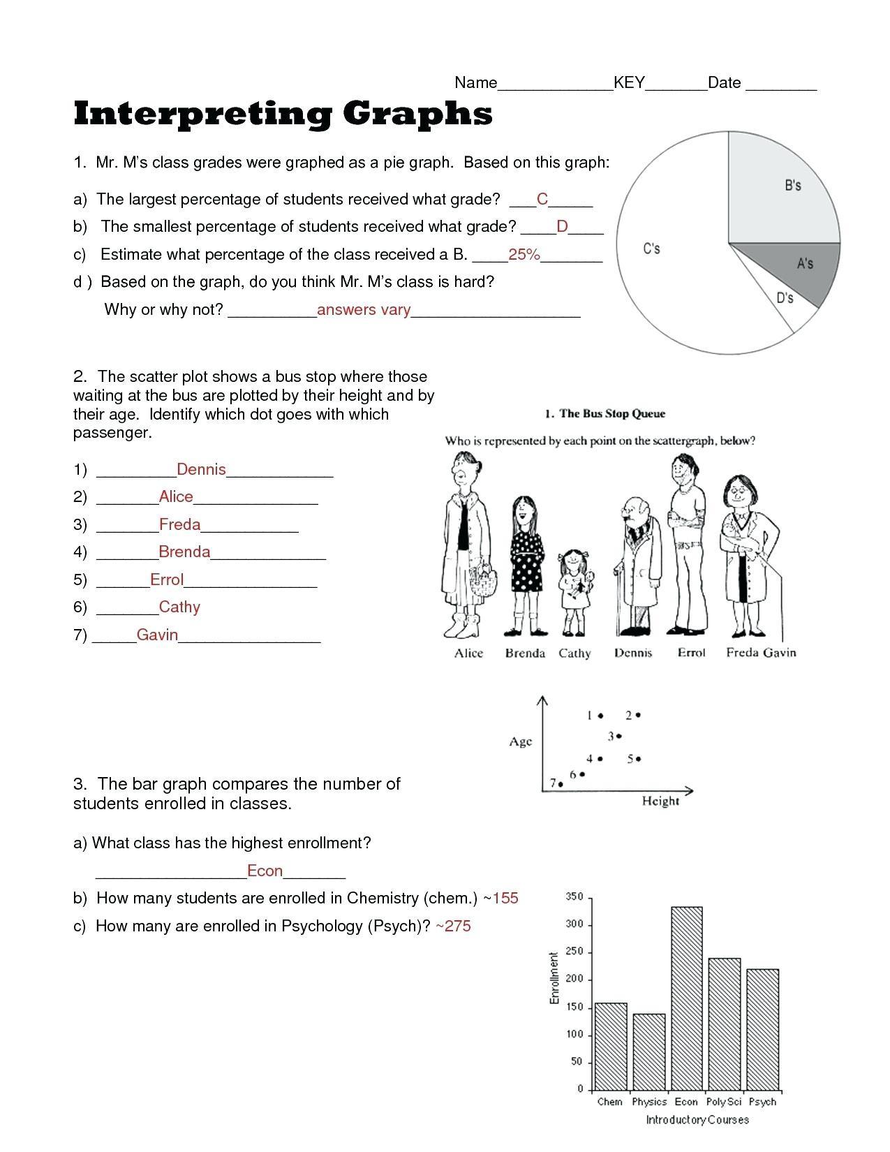30 Scatter Plot Worksheet 8th Grade