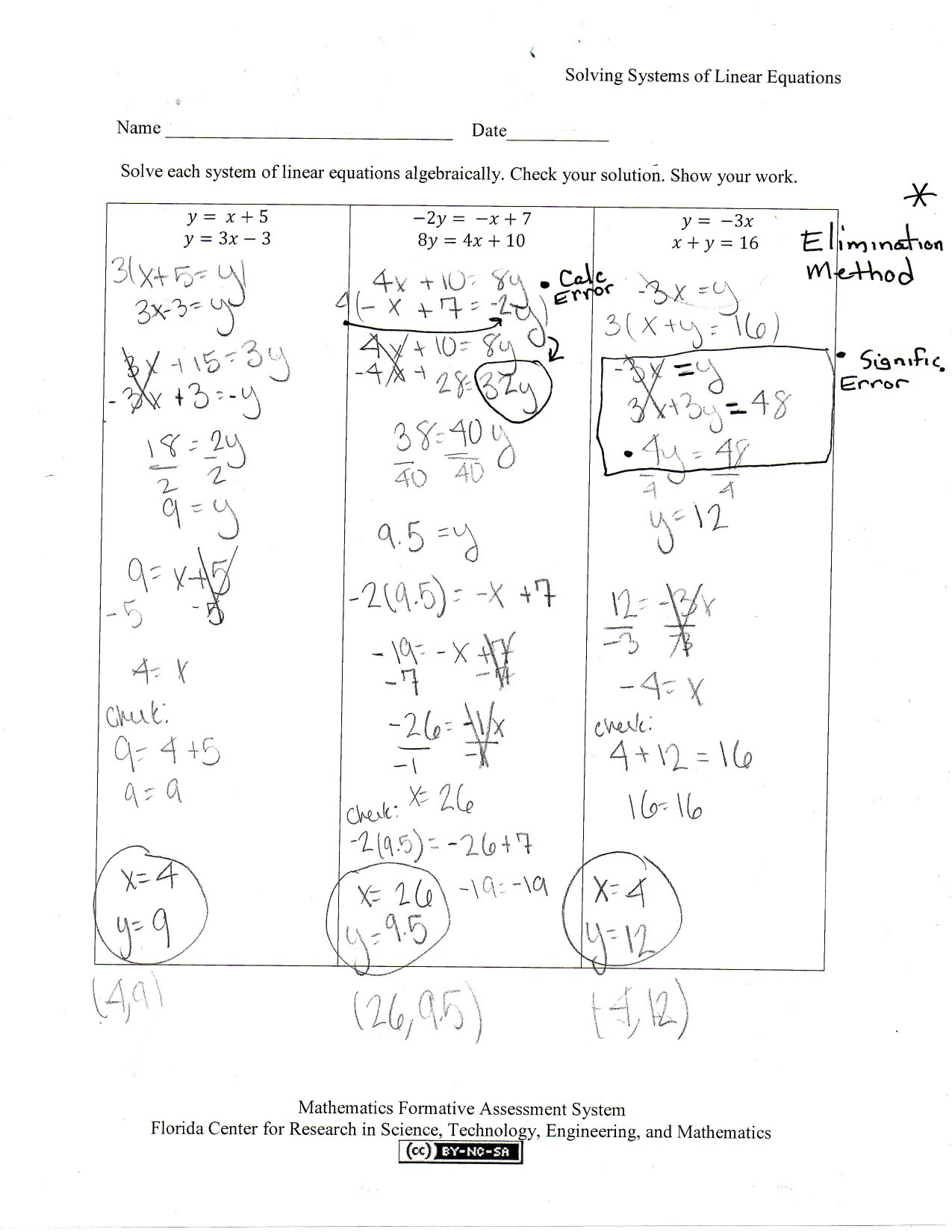 30 Systems Of Equations Graphing Worksheet