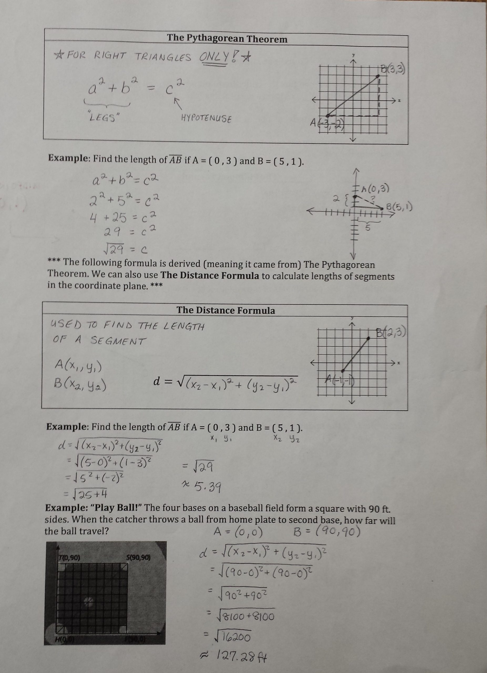 The Distance Formula Worksheet Answers Education Template