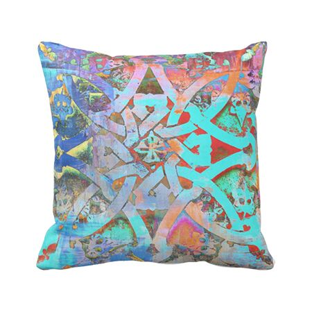 Moroccan Knot Pillows