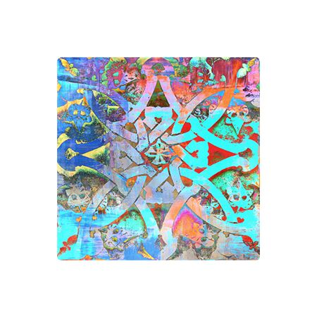 Moroccan Knot - Metal Wall Art