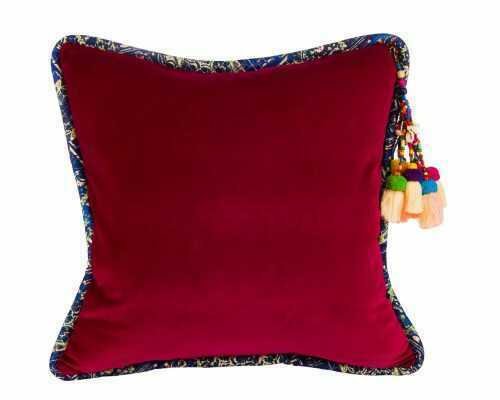 Fuschia-Luxurious-Velvet-Pillow-D-10618