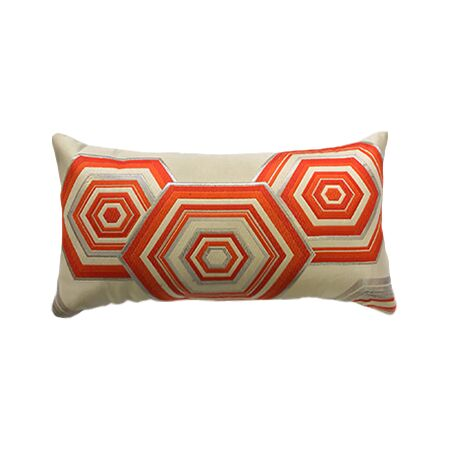 Geometric Vintage Obi Pillow