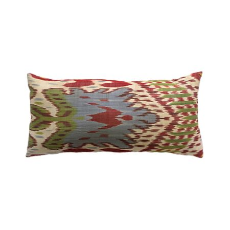 Ivory Ikat Pillow