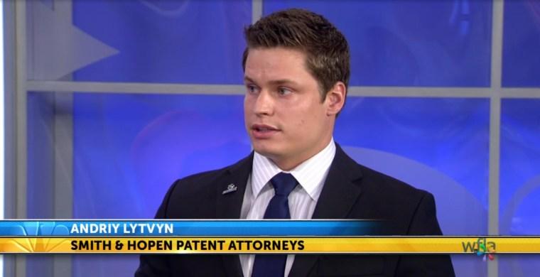 Andriy Lytvyn on NBC regarding trademarks