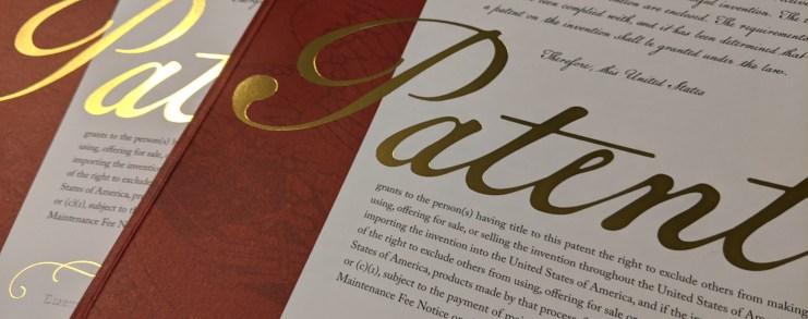 Patent grant certificates