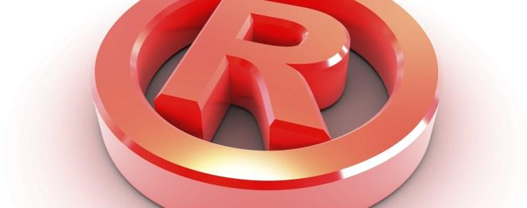 Federal trademark registratio symbol