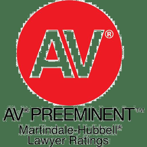 Highest Possible Rating for Lawyer - AV