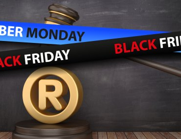 BLACK FRIDAY and CYBER MONDAY as Trademarks