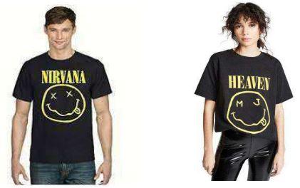 nirvana smiley face logo vs marc jacobs infringing logo