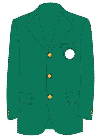 The Master's Green Jacket