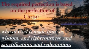 Bible text, 1 Corinthians 1 verse 30, lake, bible-text