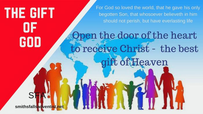The Gift Of God-people-continents-text