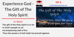Illustration-Title-Experience God - The Gift of The Holy Spirit-text-logo