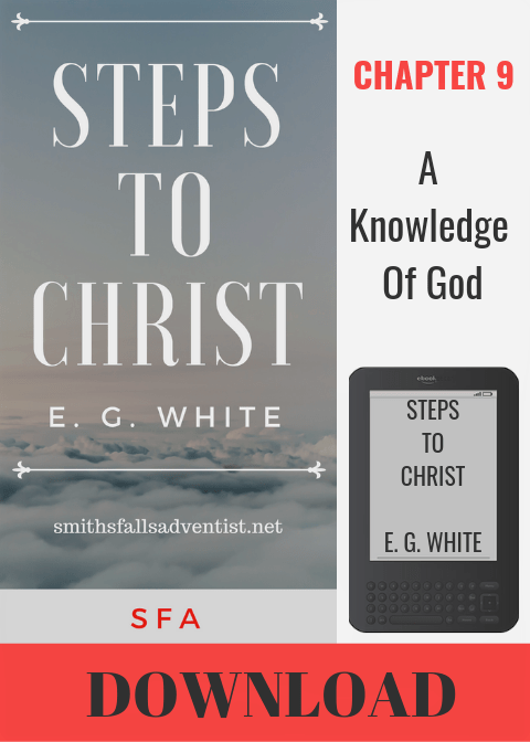 Illustration-Ebook Steps To Christ, Chapter 9 - A Knowledge Of God