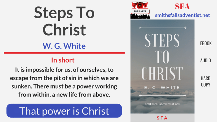 Illustration-Title-Steps to Christ-text-logo