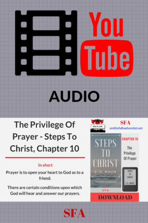 Illustration-The Privilege Of Prayer-audio-YouTube