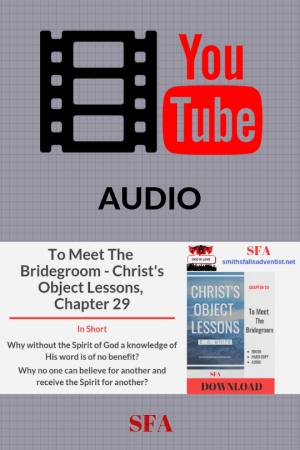 Illustration-Audio-YouTube-To Meet the Bridegroom