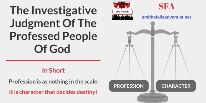 Illustration-Title-The Investigative Judgment Of The Professed People Of God-text-logo