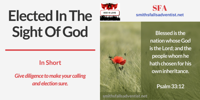 Illustration - landscape - fields - logo - text - Bible verse - Psalm 33 verse 12