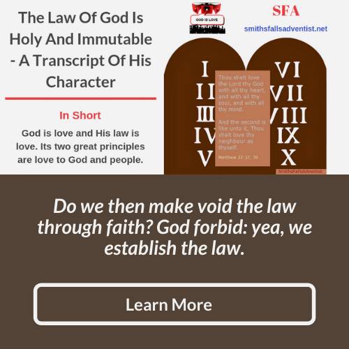 Illustration-background-stone of 10 commandments-title-God's Law-text-Bible verse