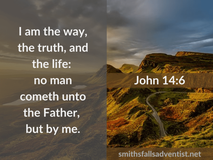 Illustration-background-mountain top-dark clouds-Title-I am the truth-text-Bible verse