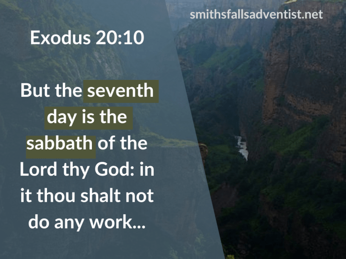 Illustration-background-canyon-title-Seventh day is the sabbath of the Lord in Exodus 20 verse 10-text-Bible verse
