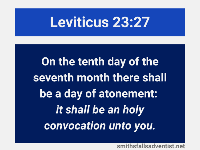 Illustration-background-title-Day of atonement in Leviticus 23 verse 27-text-Bible verse