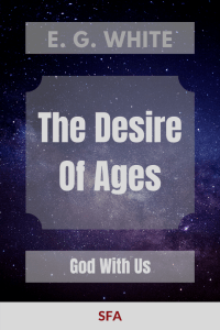 Illustration-background-starry sky-title-Ebook cover - The Desire Of Ages