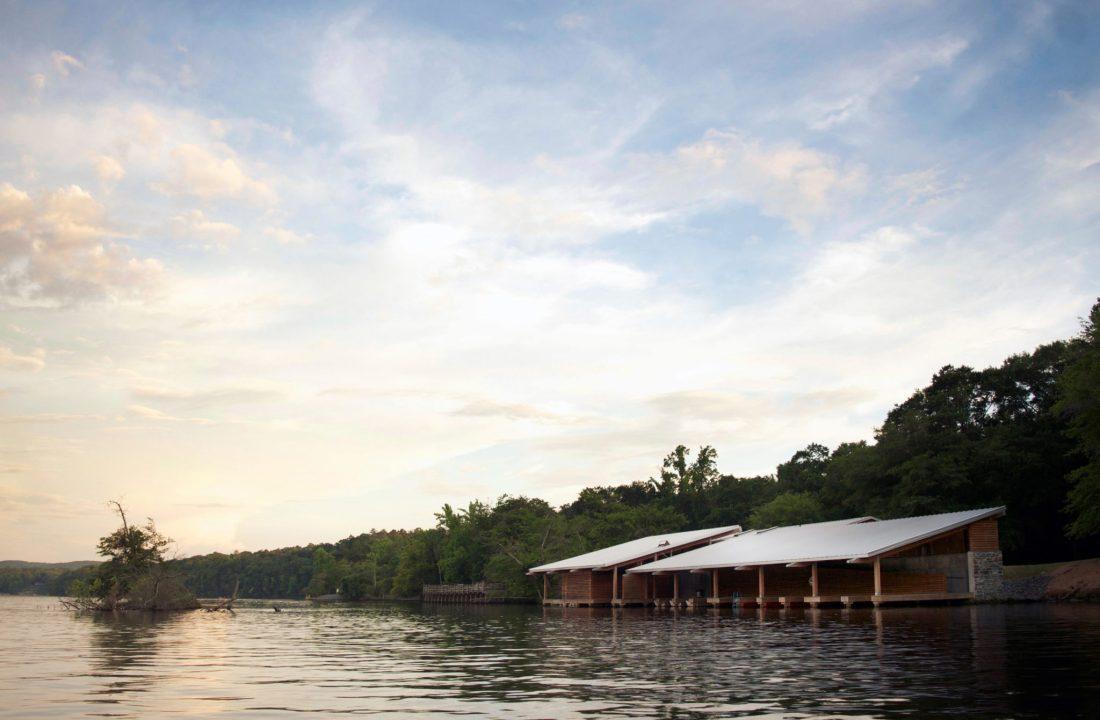 Morrow Mountain State Park Boathouse Smith Sinnett