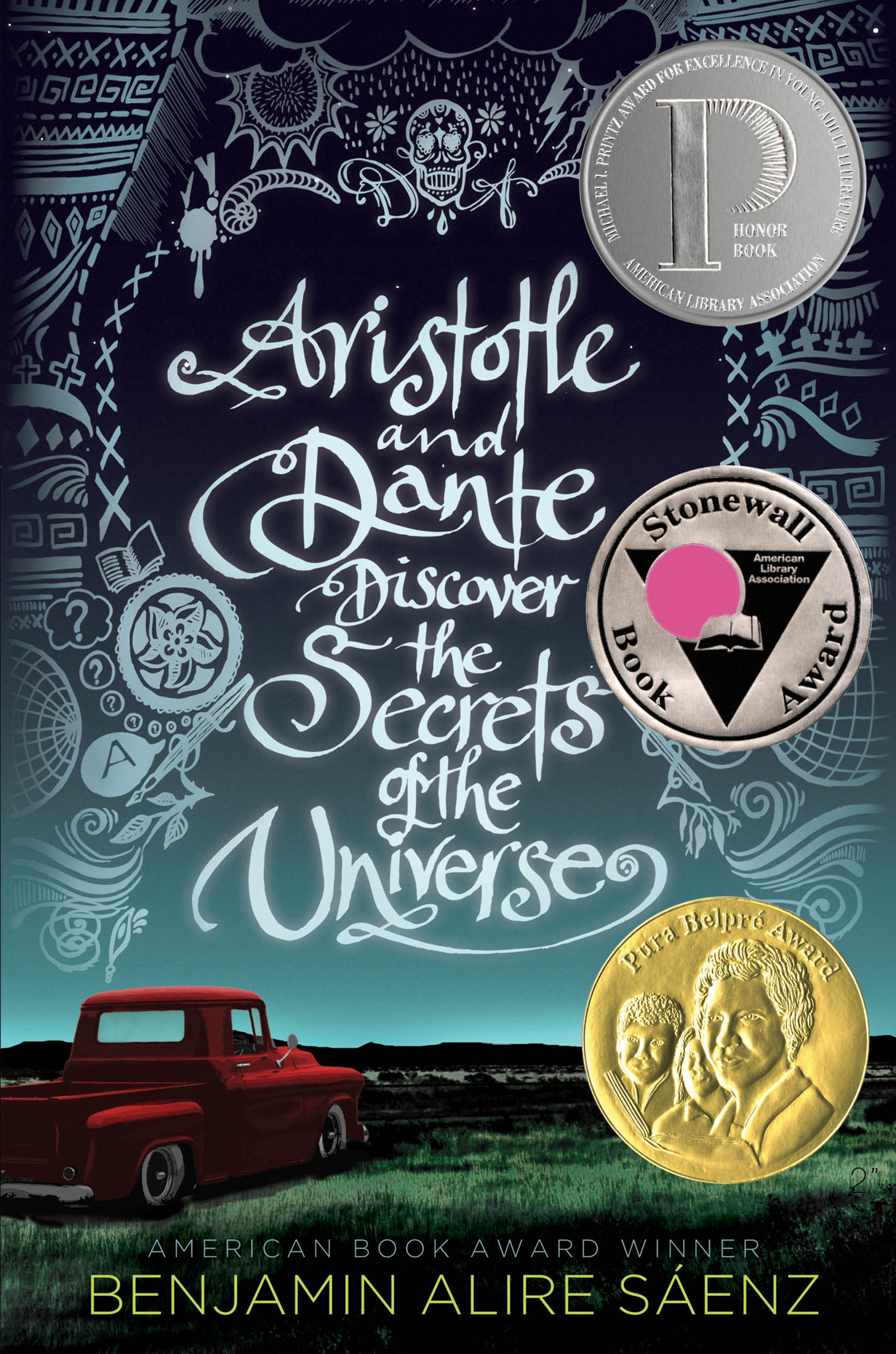 Image result for aristotle and dante discover the secrets of the universe