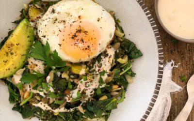 Greens & Seeds Breakfast Bowl