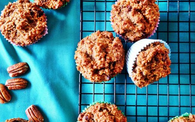 Pecan and Date Muffins