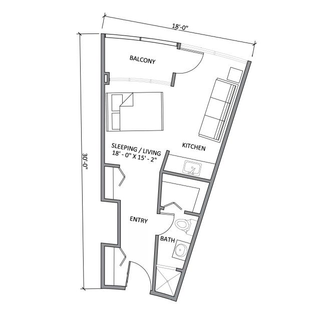 Floorplans Smith Tower Apartments