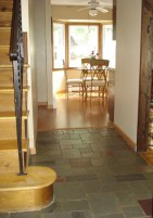 Entry Hall Hardwood floors